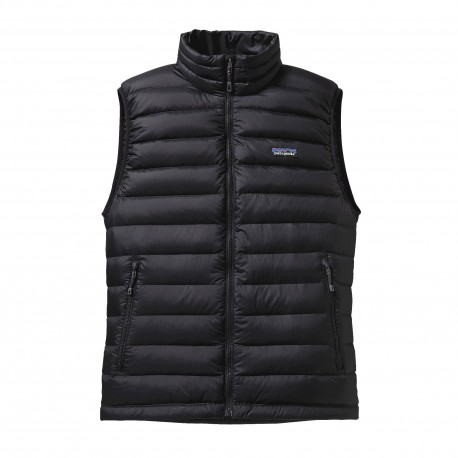 Patagonia Gilet In Piuma Down Sweater Nero Uomo