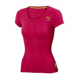 Karpos T-Shirt Donna Profili Lite  Fragola