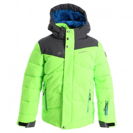 Icepeak Giacca Helios Verde Bambino
