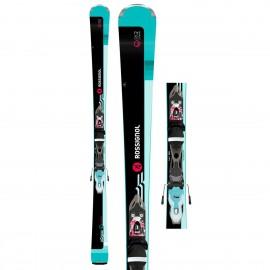 Rossignol Sci Famous 2 + Xpress 10 Nero Blu Donna