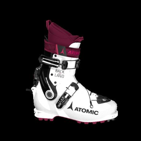 Atomic Scarponi Da Sci Backland Bianco Viola Nero Donna