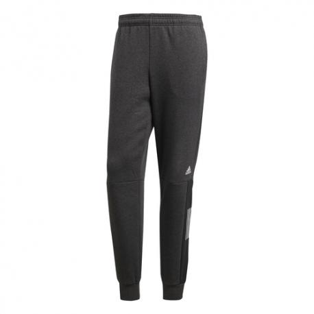 Adidas Pantalone Tuta Con Logo Nero Uomo