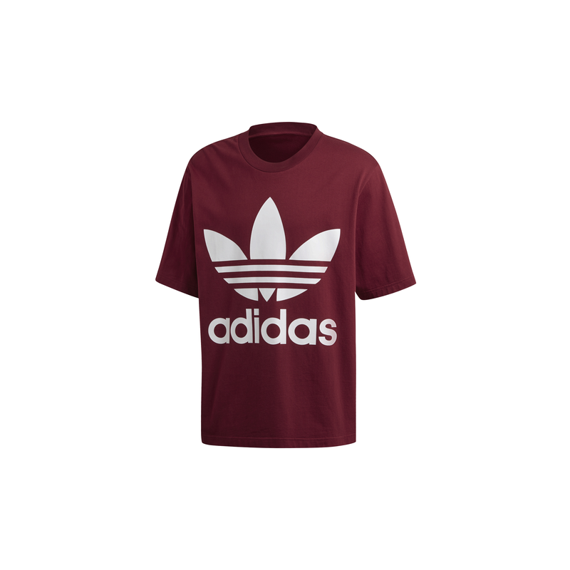 best loved 0af10 48df5 ADIDAS originals t-shirt con logo bordeaux uomo