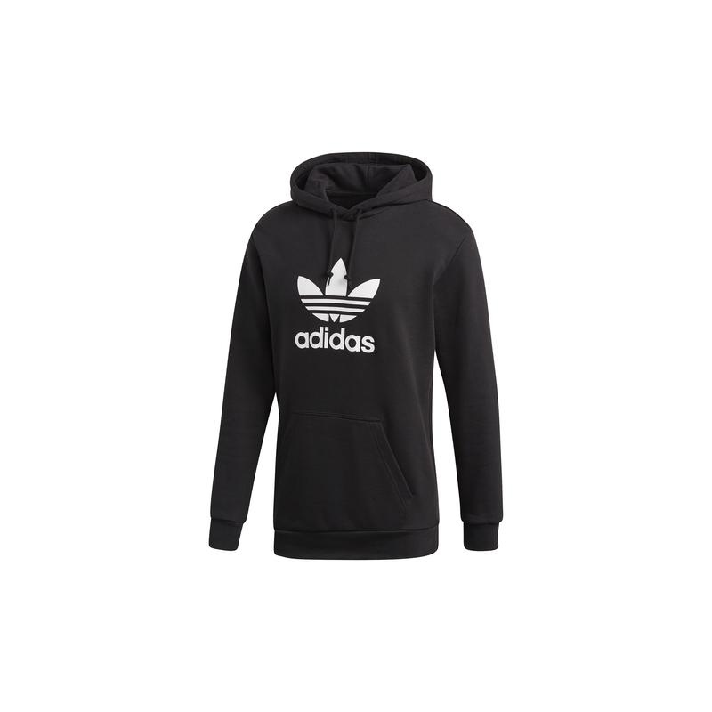 Adidas Originals Felpa con cappuccio Originals Trefoil Nero