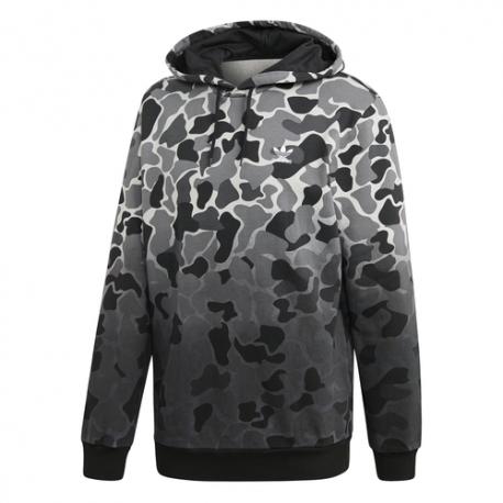 Adidas Felpa Zip Camouflage Nero Uomo