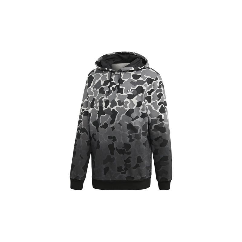 più recente a6038 b7f6d ADIDAS originals felpa zip camouflage nero uomo
