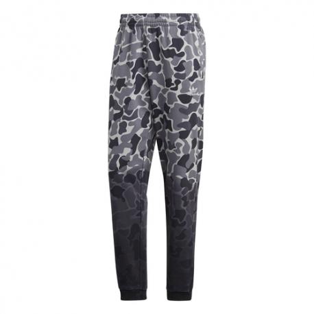 Adidas Pantalone Camouflage Nero Uomo