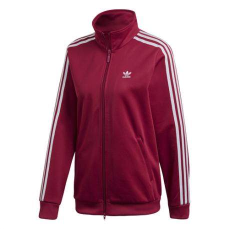 Adidas Felpa Con Cerniera Zip Contemporary Bordeaux Donna