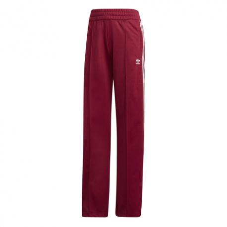 Adidas Pantalone Tuta 3 Stripes Bordeaux Donna