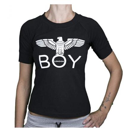 Boy London T-Shirt Corta Nero Donna
