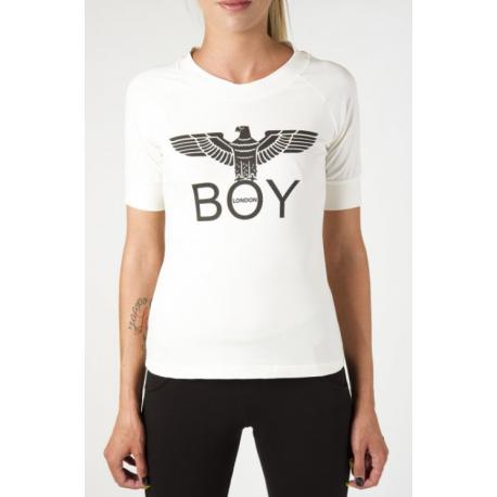 Boy London T-Shirt Corta Bianco Donna