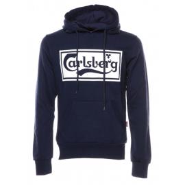 Carlsberg Felpa Logo Blu Uomo