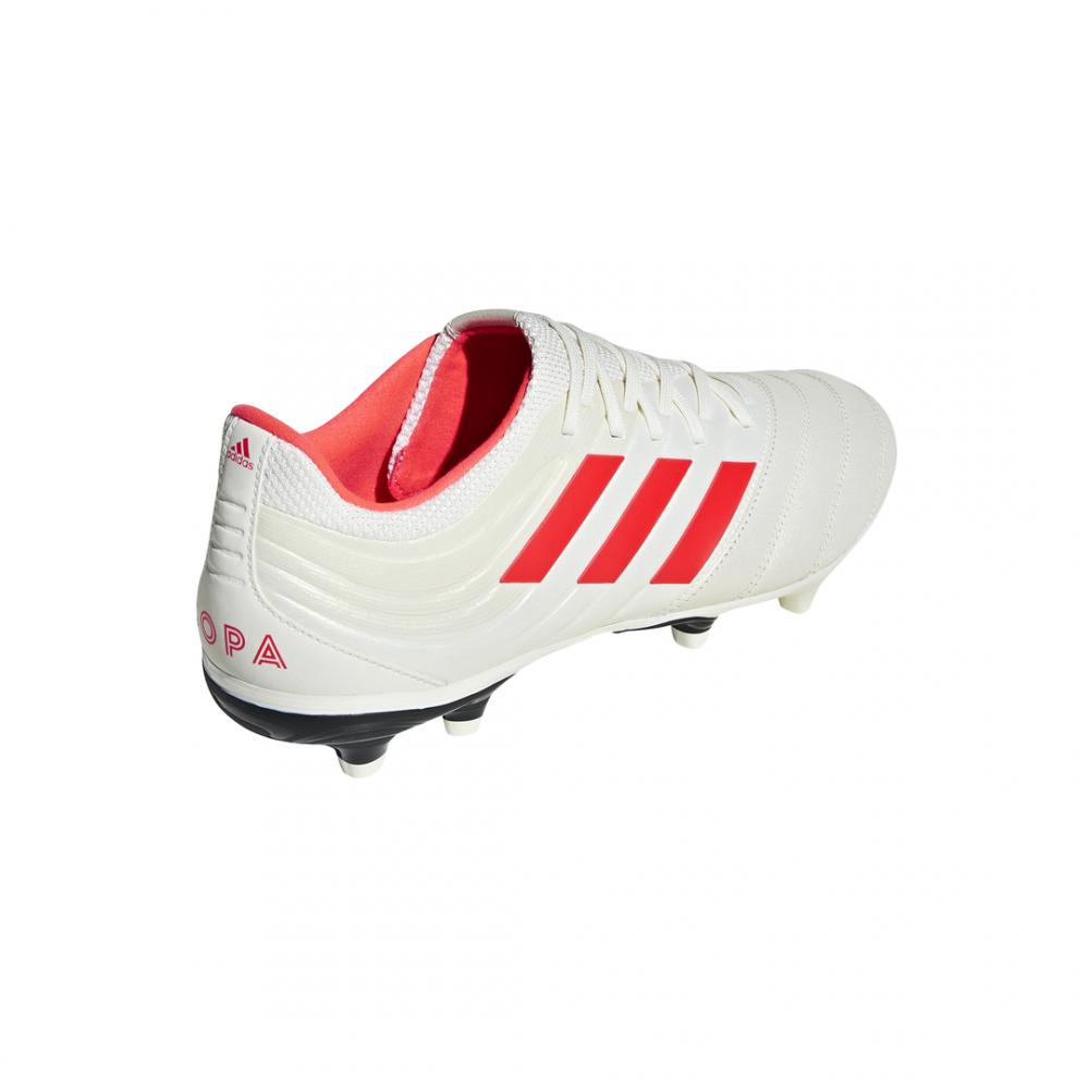 the latest 14103 8c34c ... Adidas Copa 19.3 FG Bianco Rosso Uomo ...