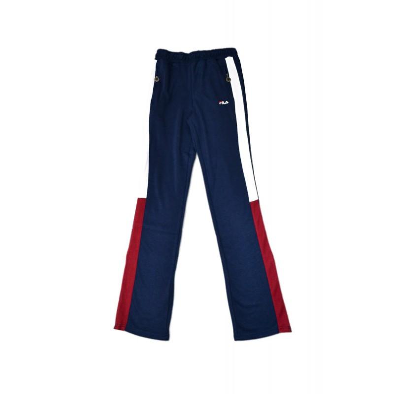 bddc1e9e59cd Fila Pantalone Tuta Zampa Blu Donna - Acquista online su Sportland