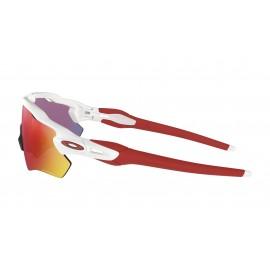 Oakley Occhiali Da Sole Radar Bianco Con Lenti Prizm Road Uomo