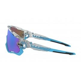 Oakley Occhiali Da Sole Jawbreaker Bianco Con Lenti Prizm Sapphire Uomo