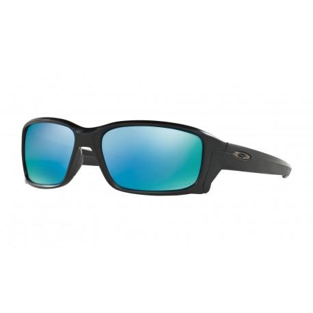 Oakley Occhiali Da Sole Straightlink Nero Azzurro Uomo