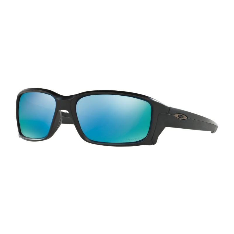 enorme sconto a462b 6c341 Oakley Occhiali Da Sole Straightlink Nero Azzurro Uomo