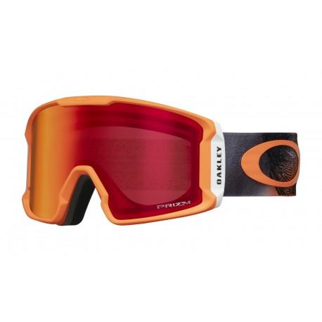 Oakley Maschera Da Sci Line Miner Arancione Con Lenti Torch Uomo