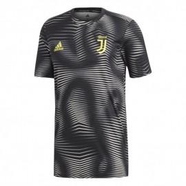 Adidas T-shirt Manica Corta Juve Pre Match Nero Uomo