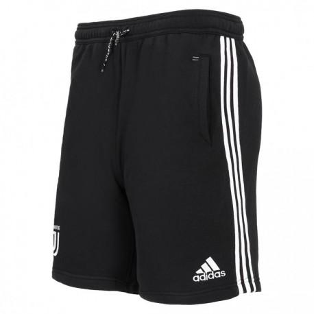 Adidas Short Juve Training Nero Bianco Bambino