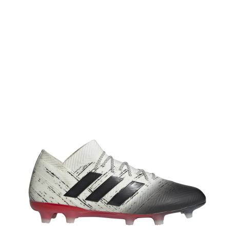 buy popular 7e54b 2d640 Adidas Nemeziz 18.1 FG Bianco Nero Uomo ...