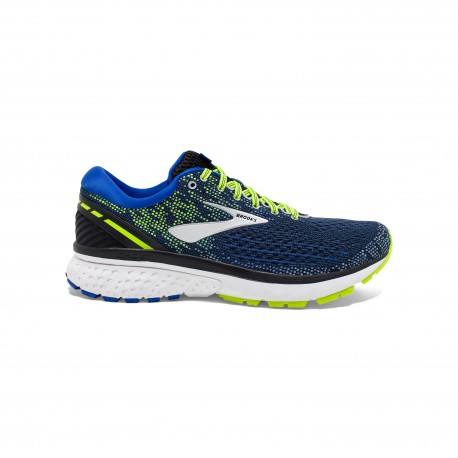 Brooks Ghost 11 Nero Blu Uomo