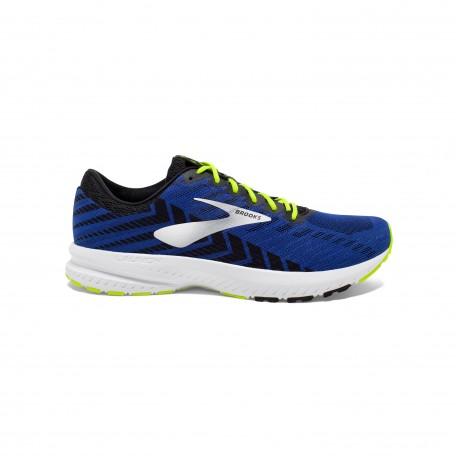 Brooks Launch 6 Blu Nero Uomo