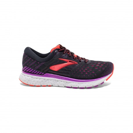 Brooks Transcend Nero Viola Donna