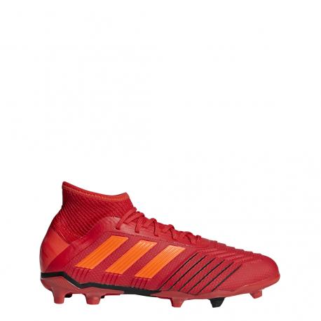 Adidas Predator 19.1 FG Rosso Bambino