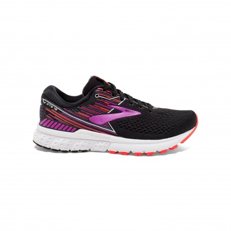 Brooks Adrenaline GTS 19 Nero Viola Donna