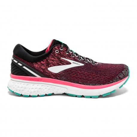 Brooks Ghost 11 Nero Rosa Donna