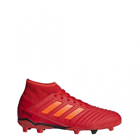 Adidas Predator 19.3 FG Rosso Bambino
