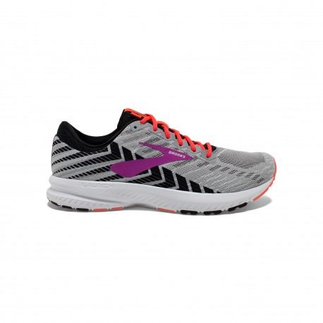 Brooks Launch 6 Grigio Nero Donna