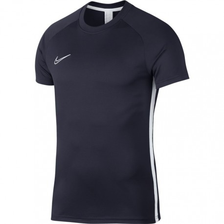 Nike T-shirt Manica Corta Dry Academy Blu Bianco Uomo