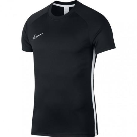 Nike T-shirt Manica Corta Dry Academy Nero Bianco Uomo