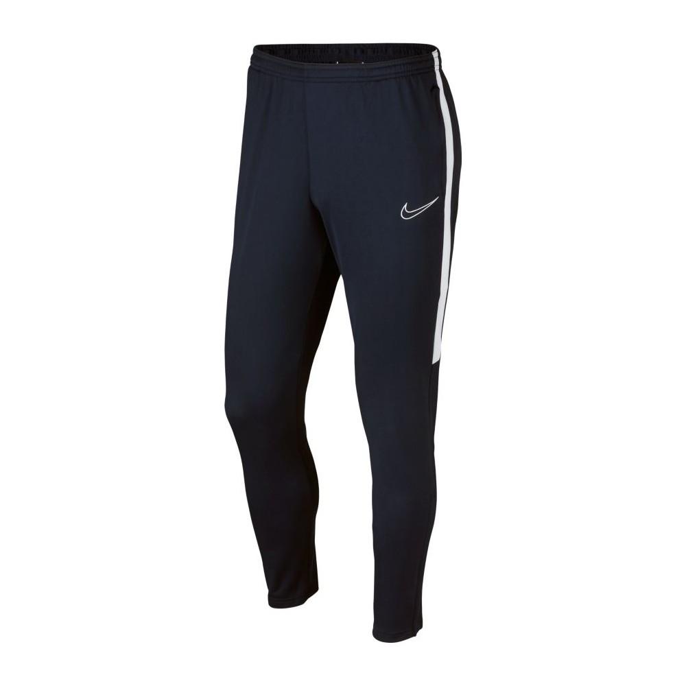 7b3ce88eed Nike Pantaloni Allenamento Calcio Academy Blu Bianco Uomo