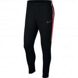 Nike Pantalone Dry Academy Nero Rosso Uomo