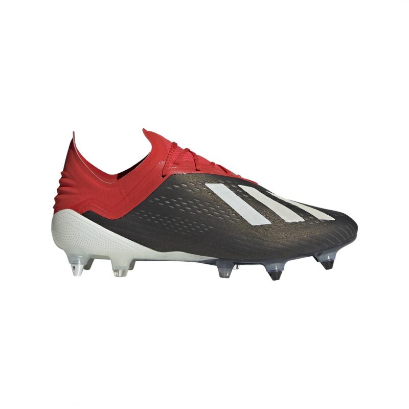 Adidas X 18.1 SG Nero Bianco Uomo