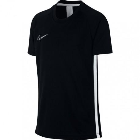 Nike T-Shirt Manica Corta Dry Academy Nero Bianco Bambino