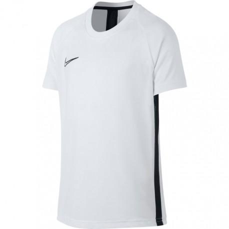 Nike T-Shirt Manica Corta Dry Academy Bianco Nero Bambino