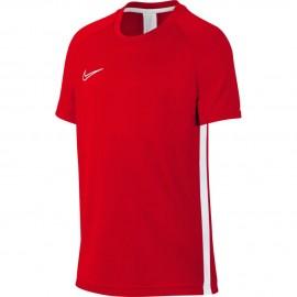 Nike T-Shirt Manica Corta Dry Academy Bianco Rosso Bambino