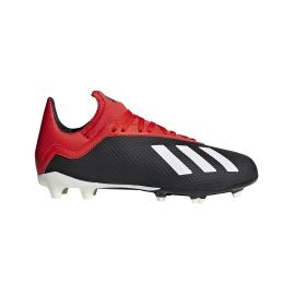 Adidas X 18.3 FG Nero Bianco Bambino