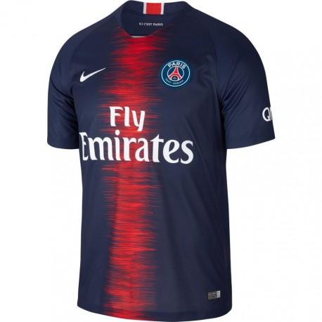 Nike T-shirt Manica Corta PSG Home Navy Blu Uomo