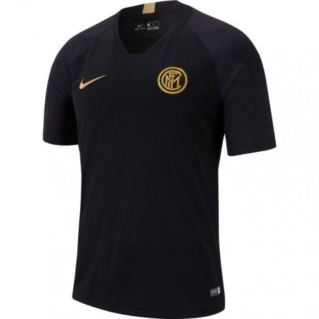 Nike T-shirt Manica Corta Inter Strike Nero Oro Uomo