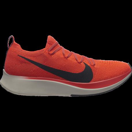 Nike Zoom Fly FK Rosso Nero Uomo