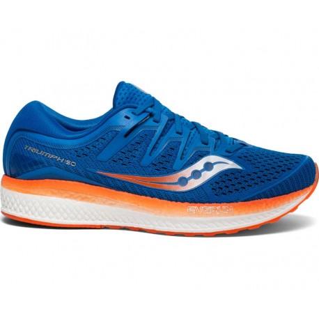 Saucony Triumph Iso 5 Blu Arancio Uomo