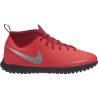 Nike Phantom Vision Club TF Rosso Argento Bambino