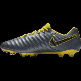 Nike Legend 7 Elite FG Grigio Giallo Uomo