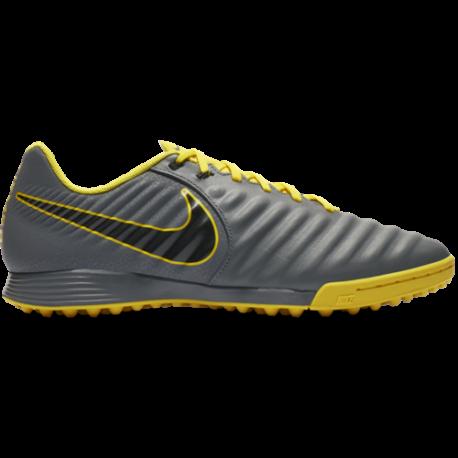 Nike Legend 7 Academy TF Grigio Giallo Uomo